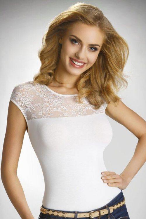84474d2a7f7e Dámske elegantné čipkové tričko Paulina